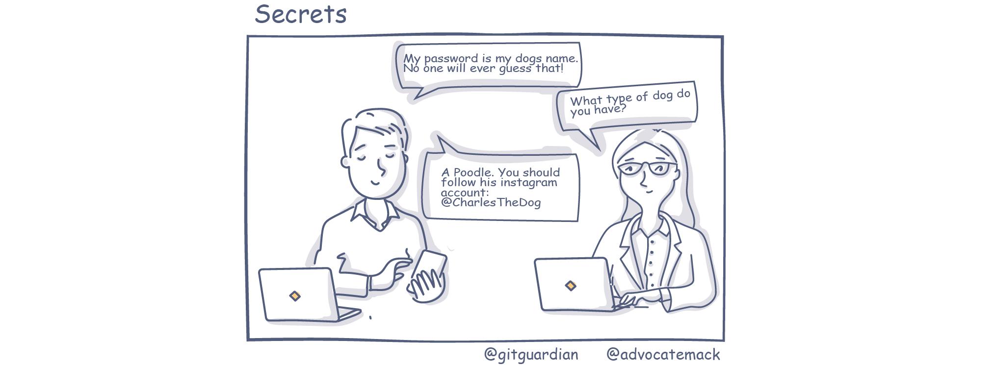 secrets in source code