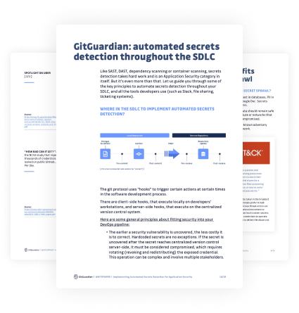 Whitepaper on Implementing Automated Secrets Detection for Application Security