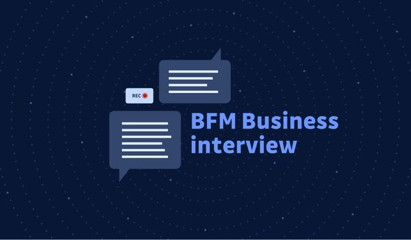 BFM Business interview with GitGuardian founder Jeremy Thomas